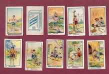 Collectible Siam Tobacco cigarette cards Siamese Proverbs 1916 Thai